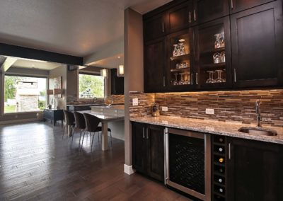 Loveland Lake Home - Back Bar