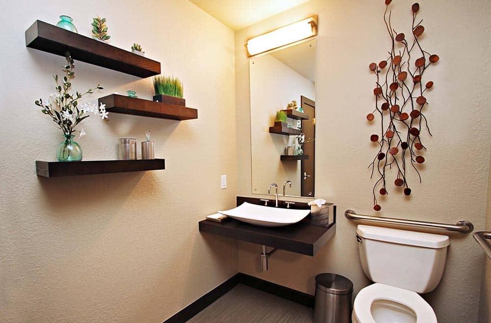Patient Restroom Remodel - Larson Interior Design