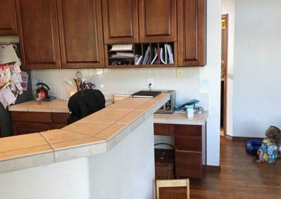 Halle's Kitchen - Before