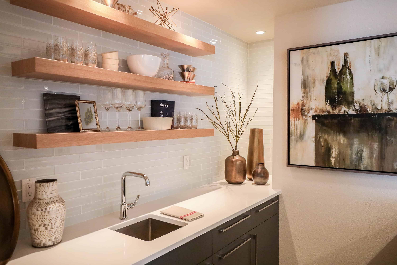 Picture of: Basement Bar Larson Interior Design